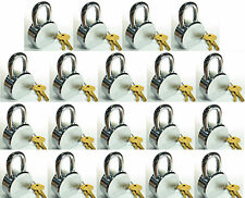 Lock Set by Master 6230KA (Lot of 19) KEYED ALIKE Solid Steel Extreme Security