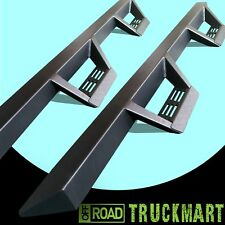 08-18 CHEVY SILVERADO GMC Sierra fit CREW CAB TRIANGULAR STEP BARS RUNNING BOARD
