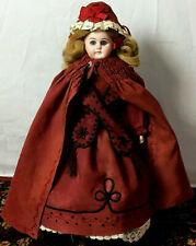 19th-Century L-2/0-A Closed-Mouth Kestner ? - Antique Doll Bisque Shoulder-Head