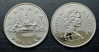 Canada 1986 Proof Like Gem Voyageur Nickel Dollar!!