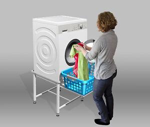 Waschmaschinen /Trockner Untergestell Podest Sockel Unterbau 40cm hoch mit Abl.