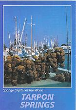 America Postcard - Sponge Capital of The World - Tarpon Springs - Florida AB2577