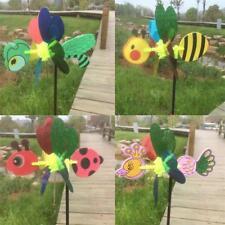 Brillant coloré moulins à vent Windsock roue jardin pelouse Accueil Party