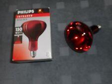 Philips Infrarotlampe E27 R 125 IR 150w*neu