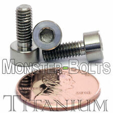 4mm x 0.70 x 10mm - TITANIUM SOCKET HEAD CAP Screw - DIN 912 Grade 5 Ti M4 Hex
