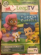 LeapFrog leapTV Games BUBBLE GUPPIES Active game New sealed