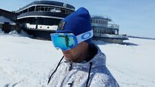 Ski goggles Oakley Airbrake / Sky Top - (Sapphire Iridium+HI Yellow) REPLICA.