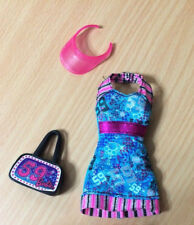Barbie Teresa Fashionistas Doll Sporty Clothes Outfit Dress Bag Accessory Lot