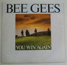 BEE GEES  (SP 45T) You win again.  NEAR MINT