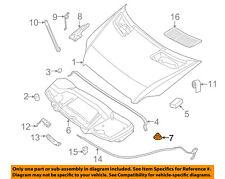 MERCEDES OEM 06-16 E350 Hood-Insulator Retainer 0019880325