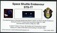 Own a Genuine Piece of Space Shuttle Endeavour - Flown in Space - Just $14.95