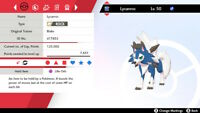 Dusk Lycanroc ✨Square SHINY✨6IV Tough Claws Pokemon Sword and Shield