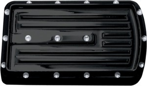 Covingtons Black Dimpled Brake Pedal Pad 85-19 Harley Touring Softail FLHX FLSTF