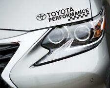 Performance Sticker Fits Toyota Logo Premium Qaulity Decals Graphics GP2