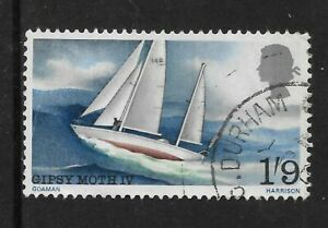 GREAT BRITAIN GB 1967 SIR FRANCIS CHICHESTER Sailing 1v USED (No 2)