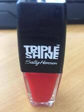 SALLY HANSEN Triple Shine Nail Polish Salon 10ml 230 Red Snapper FREE POSTAGE