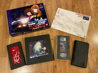 Space Battleship Yamato DELUXE PACK Japan Limited Edition(VHS+)PS1 PlayStation 1