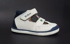 New $80 KICKERS Goodspeed Toddler Baby Boys Sandals LEATHER Size 3.5 USA/19 EURO