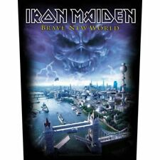 """IRON MAIDEN - """"BRAVE NEW WORLD"""" - LARGE SIZE - SEW ON BACK PATCH"""