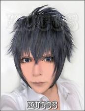 Final Fantasy Versus 15 Noctis Lucis Caelum Wig Cosplay Costume Wig + Wig Cap