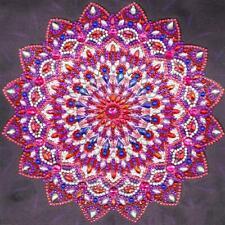 5D DIY Special Shaped Diamond Painting Mandala Cross Stitch Craft Kit Decor WT7n