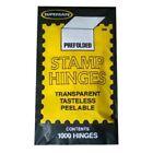 SUPERSAFE Prefolded STAMP HINGES 5 Packs of 1000