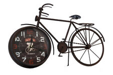 """The Barrel Shack~The Amsterdam  ~Handmade Bicycle Clock-21"""" Length -UNIQUE -NEW!"""