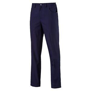 Puma Mens 6 Pocket Pants Peacoat, size 34/32