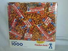 Cracker Jack 1000 pc SEALED! Puzzle  Made in USA  24x30 NEW! Springbok Hallmark