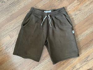 reigning champ sweat shorts medium green sweatshorts
