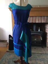 Karen Millen Blue/Green Dress Size 12
