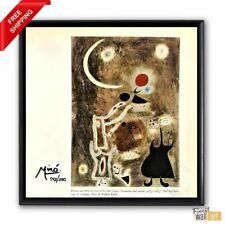 Joan Miro Original Hand Signed Print  with COA
