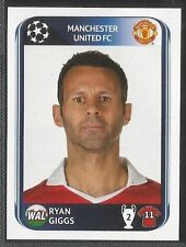 Panini 2010-2011 Champions League #149 MAN UTD Ryan Giggs sticker
