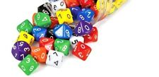 Dice 10 Sided (0-9) x 6 Teacher Resource