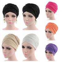Islamic Turban Hat Breathable Mesh Long Head Scarf Wrap Cap Muslim Women Hijab