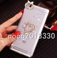3D Soft Case Cover Handmade Luxury Bling Jewelled Rhinestone Diamond Crystal #b