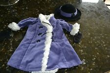 American Girl Samantha's Winter Coat, Hat & Mittens
