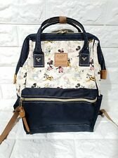 Anello x Disney Mickey Mouse Canvas Everyday Backpack - Navy Blue