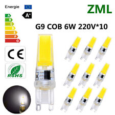10xG9 LED Bulb 6WCOB Cool White Dimmable Energy Saving Light Super Bright AC220V