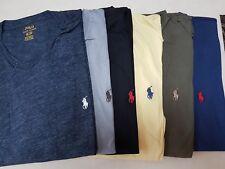 Men's Ralph Lauren V Neck Short Sleeve T-Shirts Size XS Various Colours Genuine