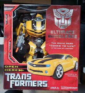 Hasbro Transformers Ultimate Bumblebee In Box 2007 Movie! Read Description!!!!