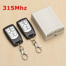 12V 4CH 100M Wireless Fernbedienung Funk Schalter 2 Transceiver Empfänger Switch