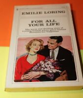 For All Your Life Emilie Loring #1 Bantam Romance Paperback