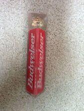 Vintage small Acrylic Budweiser shotgun Tap Handle Beer bar pub keg Kegerator