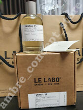 Le Labo Santal 33 100 ml or 3.4 Oz Unisex Eau de Parfum U.S.A. New in box