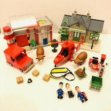 Postman Pat SDS Sorting Office Shop Helicopter Van Daisy Figure Bundle Lot