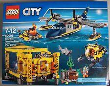 LEGO City DEEP SEA OPERATION BASE 60096 NIB Retired Limited Release