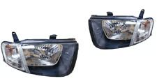 Pair of Headlights L+R clear blinker For Mitsubishi Triton GL/GLX ML (2006-2009)