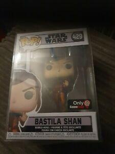 Bastila Shan Funko Pop Vinyl Star Wars 429 Gamestop Exc With Pop Protector