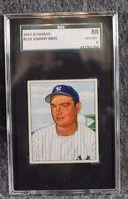Vintage Baseball Card MLB 1950 Bowman SGC 88 NM/MT 8 Johnny Mize Only 2 Higher